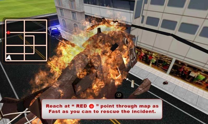 फायर फाइटर ट्रक सिम्युलेटर स्क्रीनशॉट 4