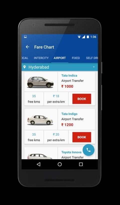 Highway Cabs-Book Cab in India 6 تصوير الشاشة