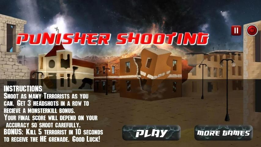 Punisher Shooting Games screenshot 3