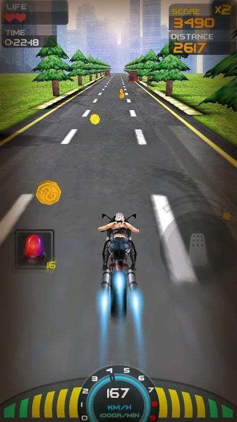Death Racing:Moto 1 تصوير الشاشة