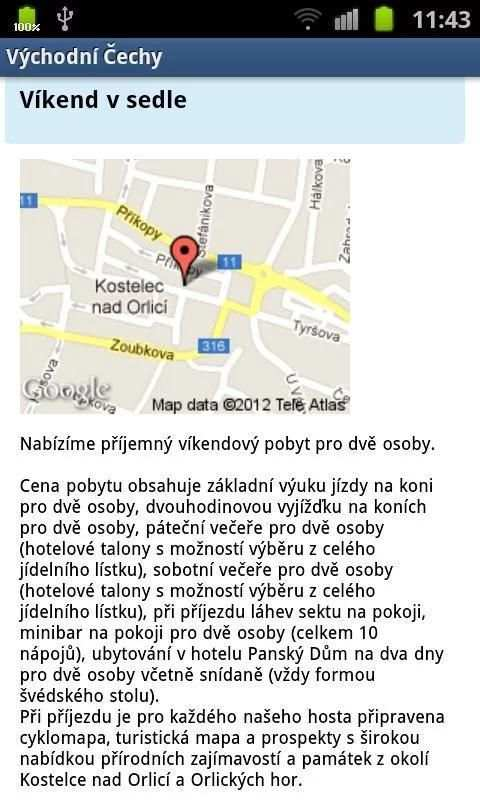 Eastern Bohemia INFO screenshot 9