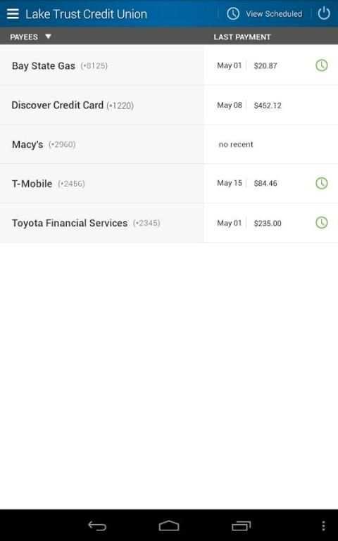 Lake Trust Credit Union screenshot 2