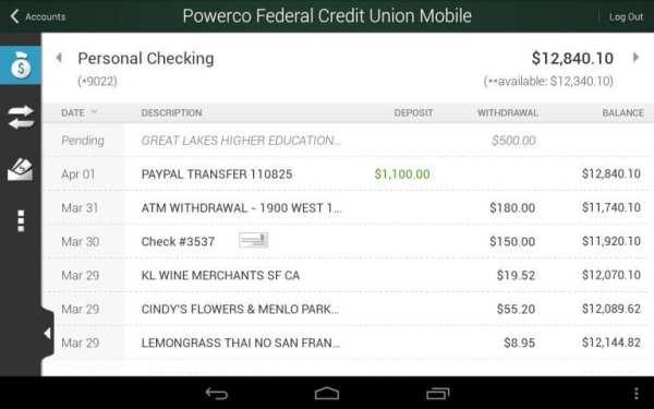 Powerco Federal Credit Union screenshot 4