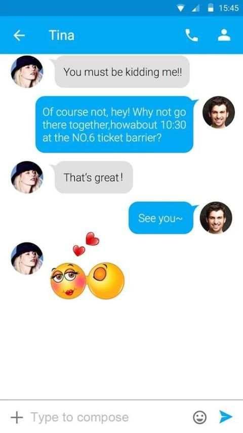 FREE-GO SMS EMOTICON 2 STICKER screenshot 4