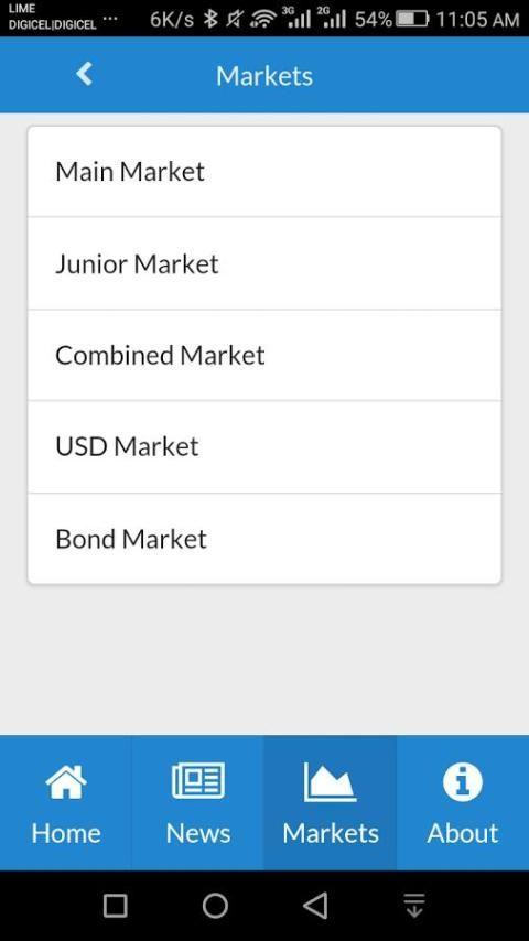 JSE Mobile screenshot 2