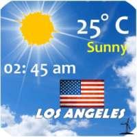 Los Angeles Weather आइकन