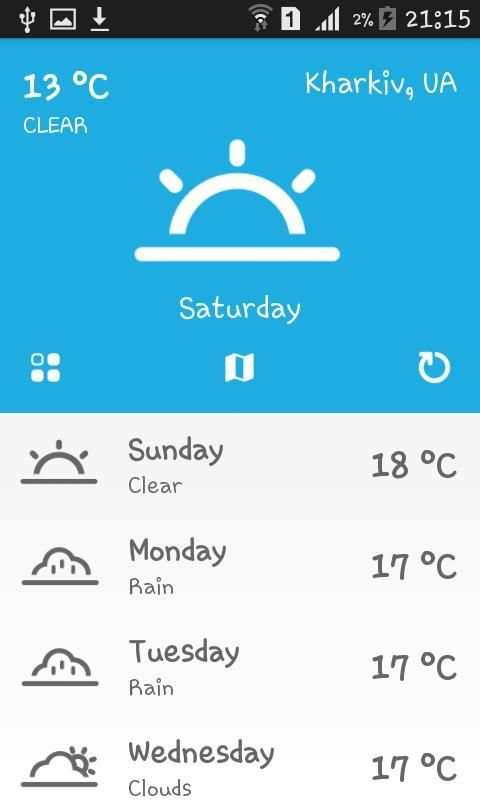 Weather Ukraine screenshot 4