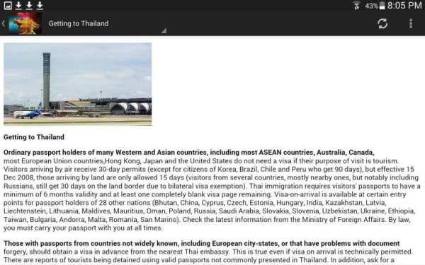 Thailand Travel & Hotel Guide screenshot 13