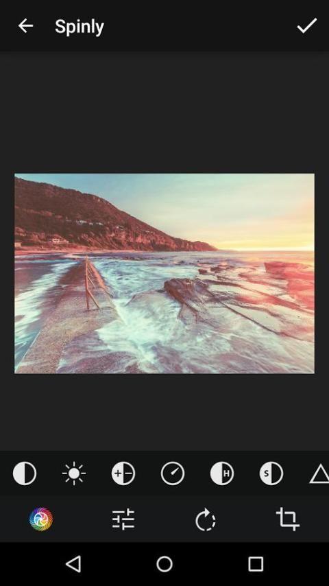 Spinly Photo Editor & Filters 6 تصوير الشاشة