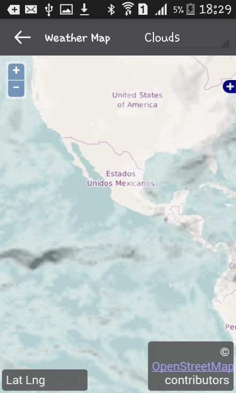 Weather Mexico screenshot 3