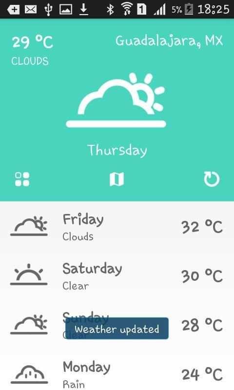 Weather Mexico screenshot 5