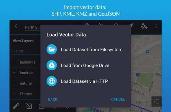 Mappt Lite - Mobile GIS screenshot 2