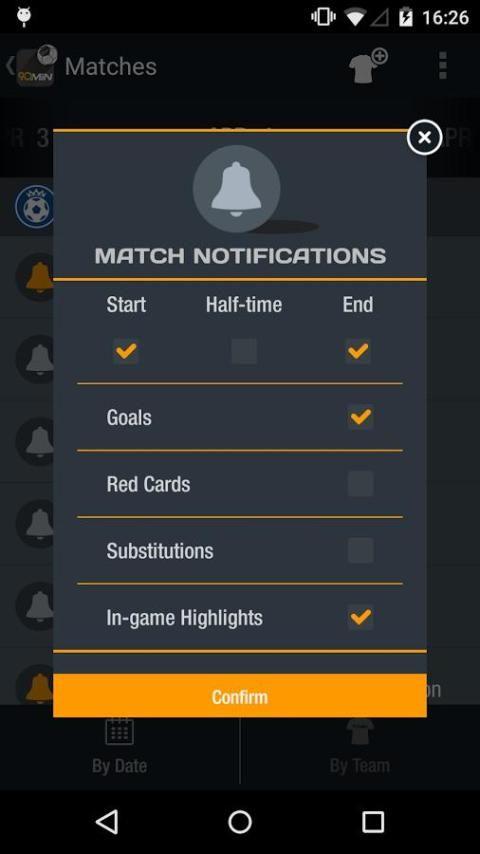 90min - Live Soccer News App 1 تصوير الشاشة
