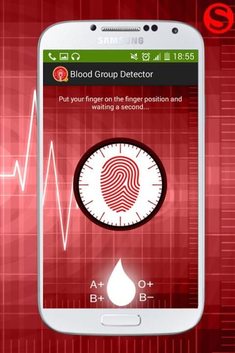 Blood Group Scanner Prank 5 تصوير الشاشة