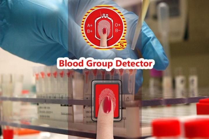 Blood Group Scanner Prank 6 تصوير الشاشة