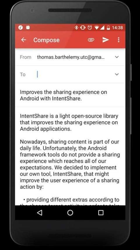 IntentShare Sample Beta screenshot 5