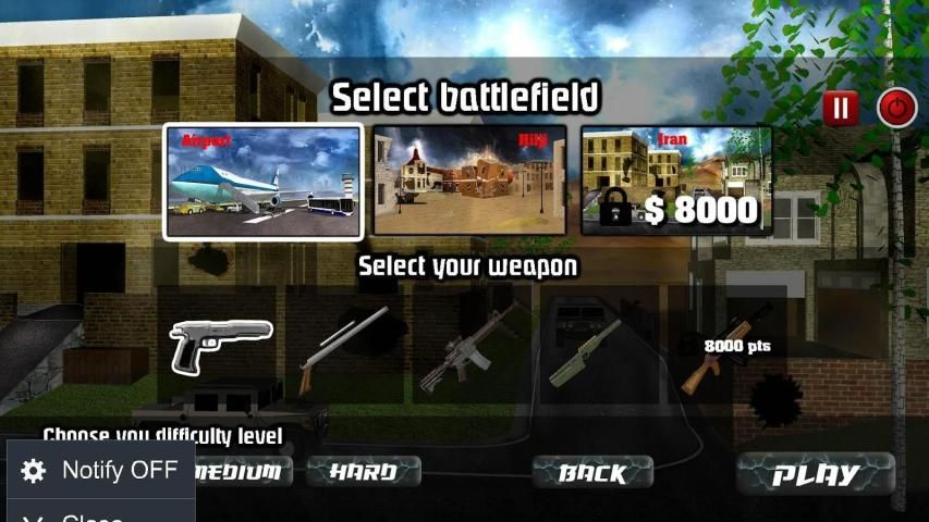 Punisher Shooting Games screenshot 4
