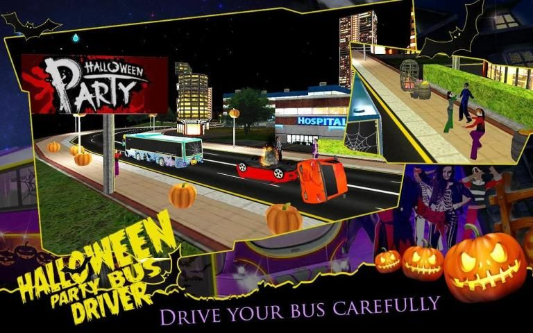 HALLOWEEN PARTY BUS DRIVER screenshot 3