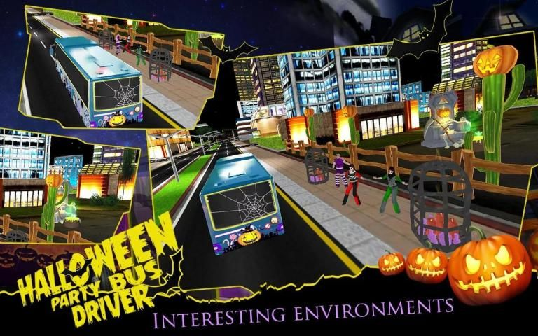 HALLOWEEN PARTY BUS DRIVER screenshot 1