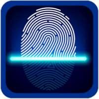 Fingerprint app Lock simulated on APKTom