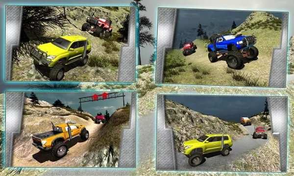 4x4 Off road Jeep Driving 3D screenshot 16