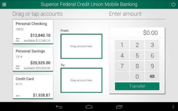 Superior Credit Union 3 تصوير الشاشة