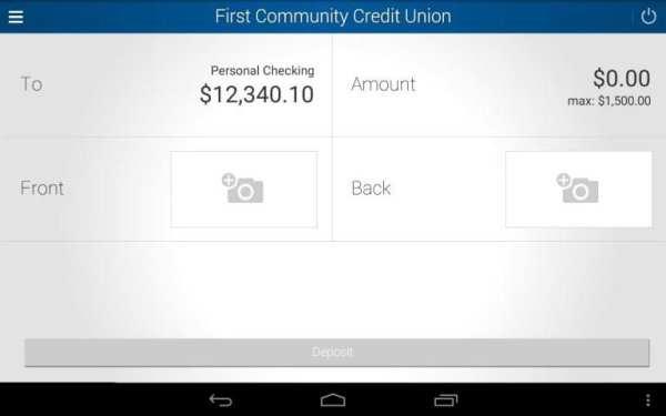 First Community Credit Union screenshot 10