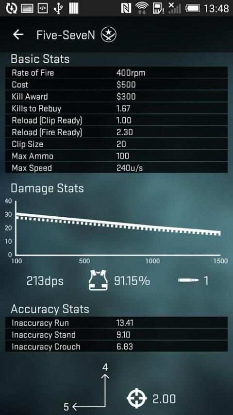 Strike Counter: CSGO Weapons स्क्रीनशॉट 1