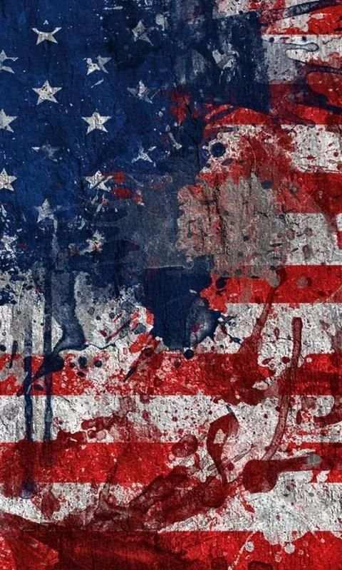 live usa flag wallpaper screenshot 1