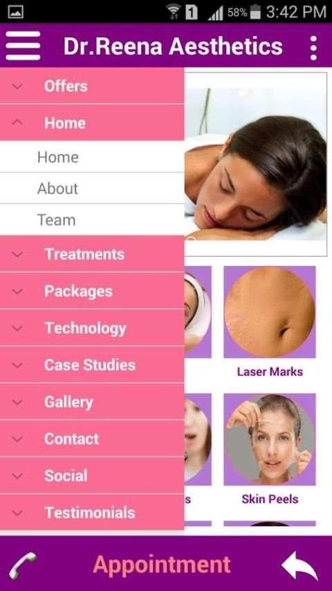Dr Reena Jain Aesthetic Clinic screenshot 6