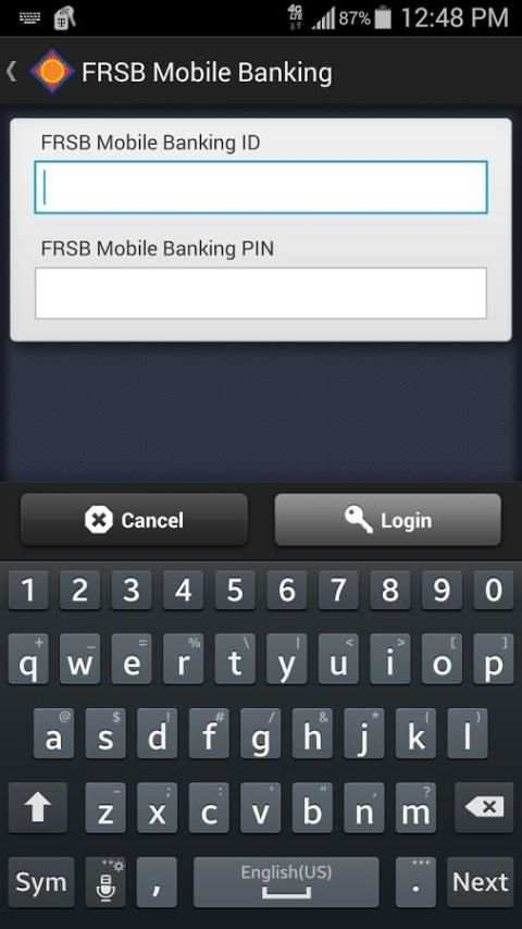 FRSB Mobile Banking screenshot 3