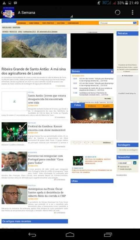 Cape Verde News screenshot 2