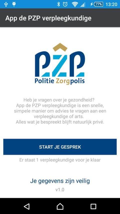App de PZP verpleegkundige screenshot 5
