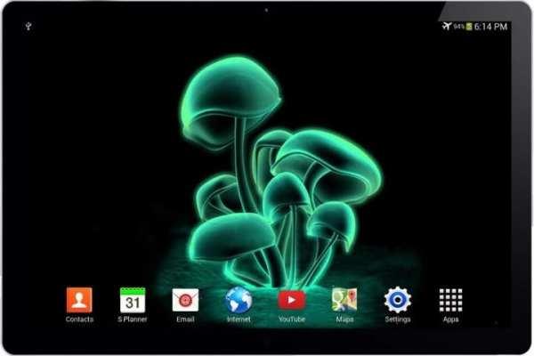 Jamur 3D Live Wallpaper screenshot 2