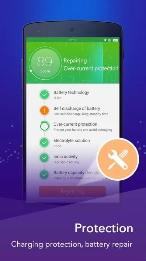 Battery Doctor-battery saver screenshot 5
