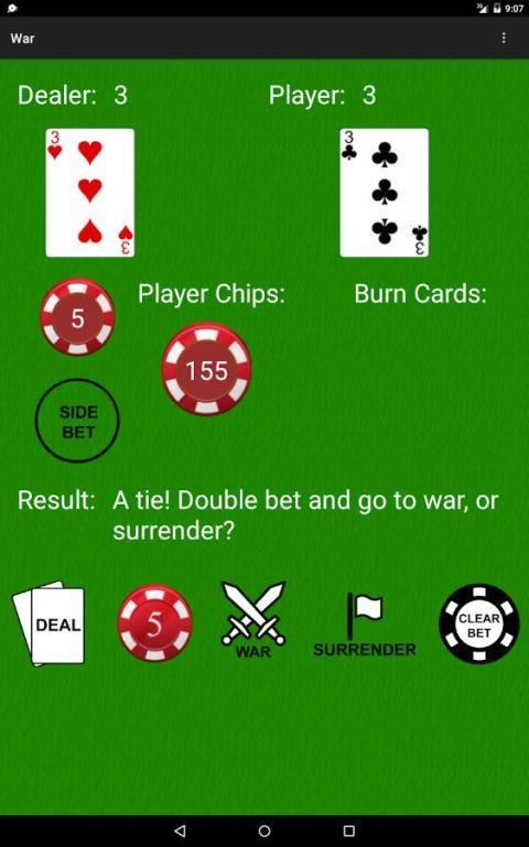 PvC: War [Casino War] 11 تصوير الشاشة