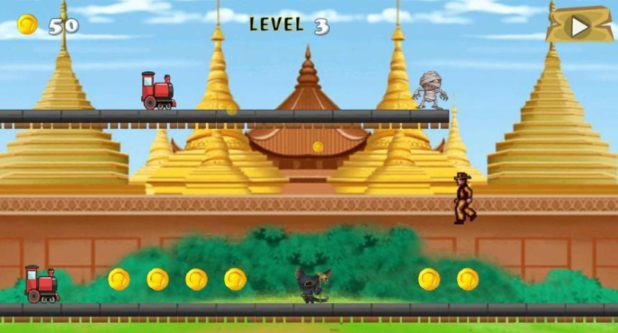 Temple Train FREE! screenshot 1