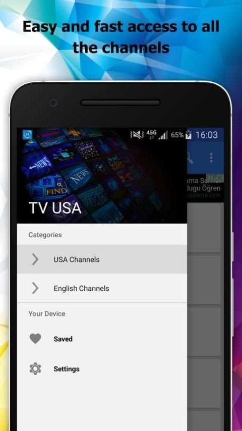 TV USA Channels Info screenshot 3