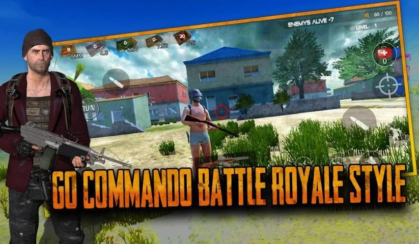 Free Fall: survival royale in fire battlegrounds स्क्रीनशॉट 2