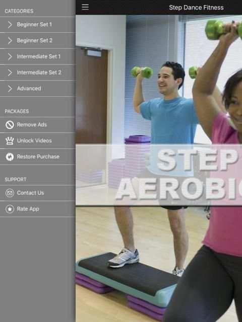 Step Aerobics FREE 1 تصوير الشاشة
