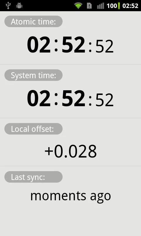 ClockSync screenshot 4