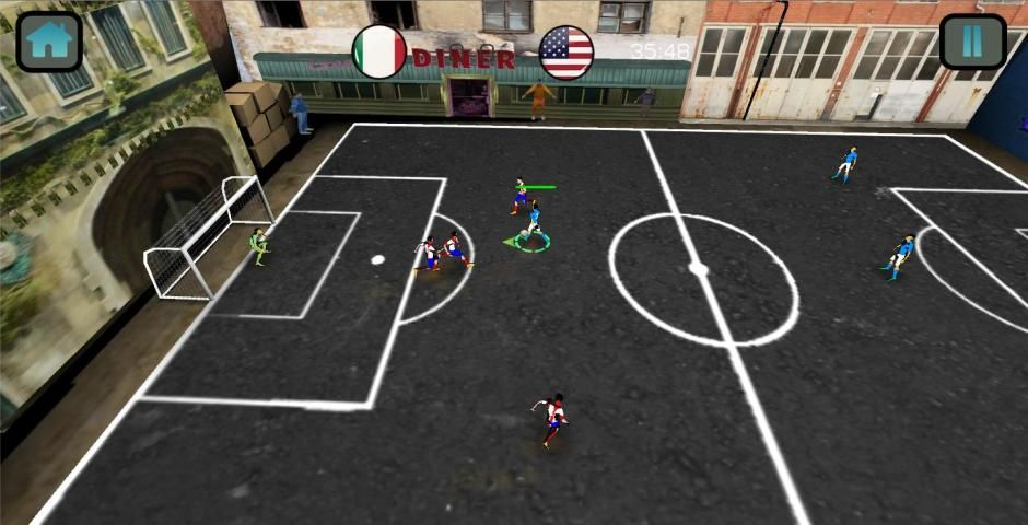Soccer Match Competition 3D screenshot 3