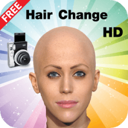 changing hairstyle photo icon