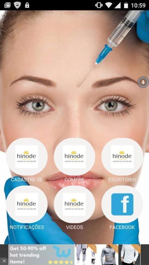 Hinode app screenshot 6