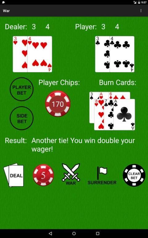 PvC: War [Casino War] 12 تصوير الشاشة