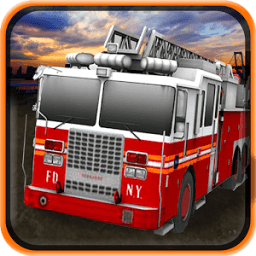 Firefighter Truck Simulator 3D icon