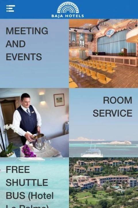 Baja Hotels App 1 تصوير الشاشة
