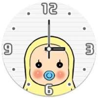 Memetan Clocks Widget أيقونة