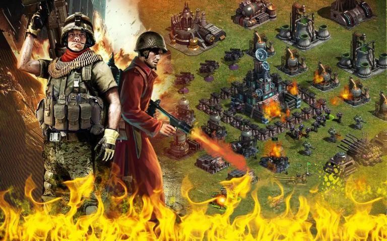 Red Warfare: Let's Fire! screenshot 6