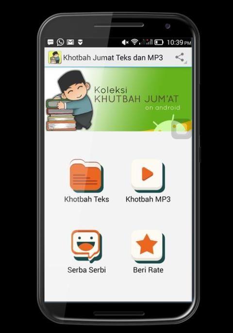 Khotbah Jumat Teks dan MP3 screenshot 1